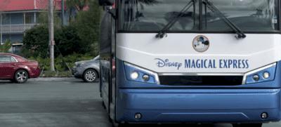 disney's magical express bus front