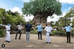 Disney World Cast Members Covid-19 Testing