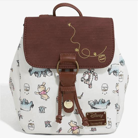 pooh mini backpack