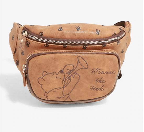 pooh fanny pack loungefly