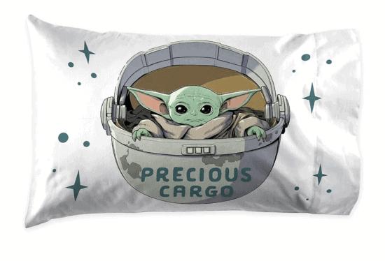 baby yoda pillowcase reverse