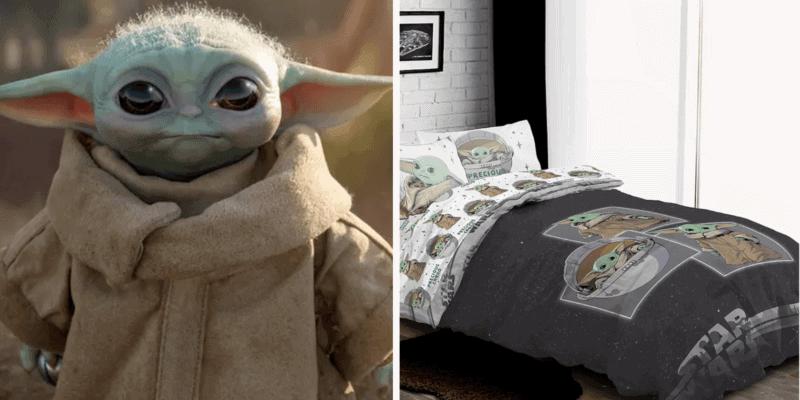 baby yoda bedding header