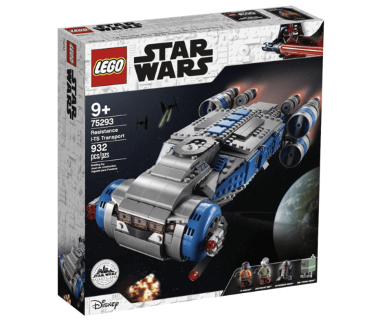 star wars lego transport