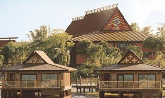 polynesian bungalows