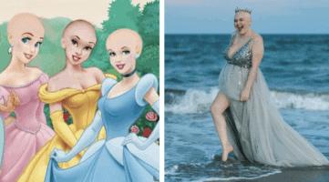 cancer victim princess header