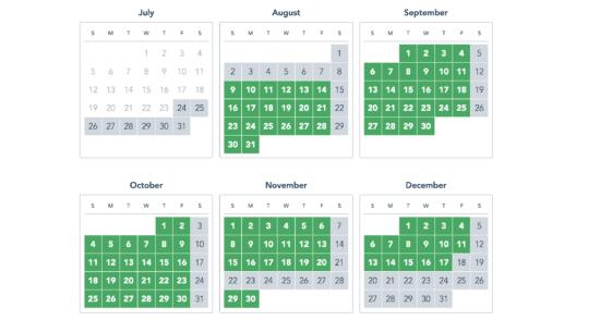 Magic Kingdom Select Annual Pass Blackout Dates