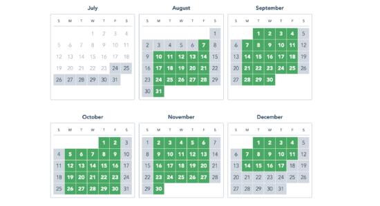 Walt Disney World Weekday Select Pass Blackout Dates