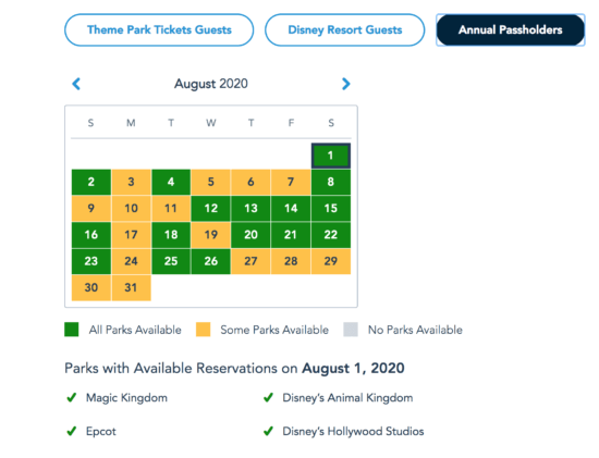 More Park Passes for Annual Passholders