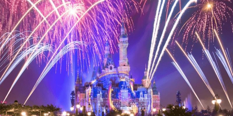 Shanghai fireworks