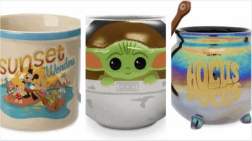 new shopDisney mugs