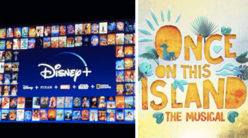once on this island header