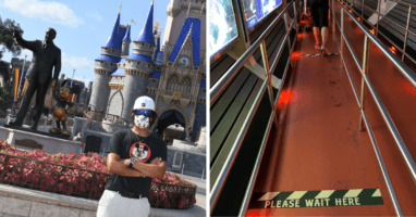 Social Distancing on Disney World Attractions