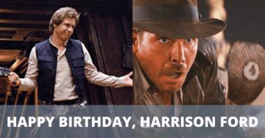 Harrison Ford Birthday