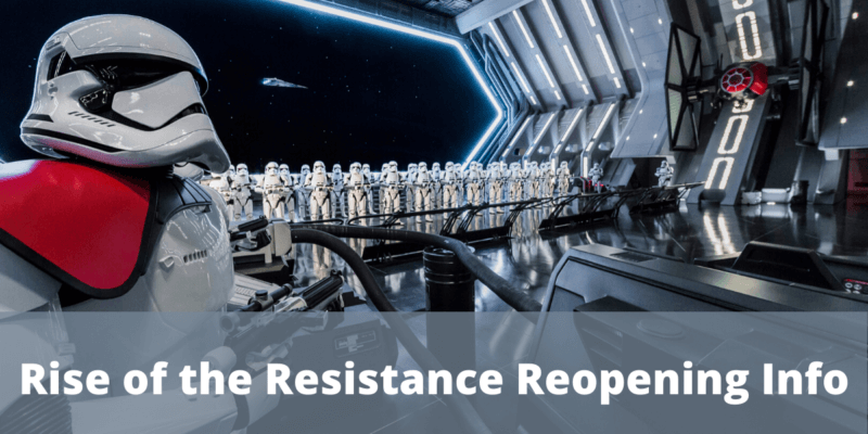 Star Wars Rise of the Resistance Virtual Queue