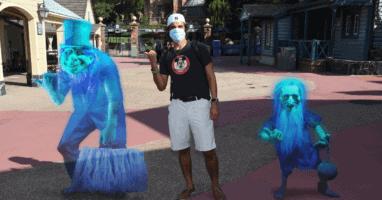Face Masks at Magic Kingdom Review