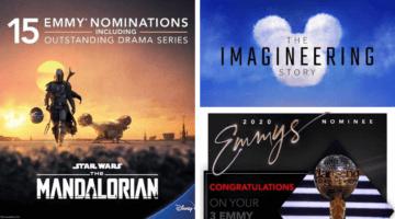 Walt Disney Company Emmy's