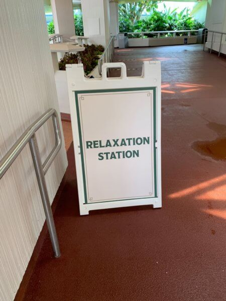 Relaxation Sign