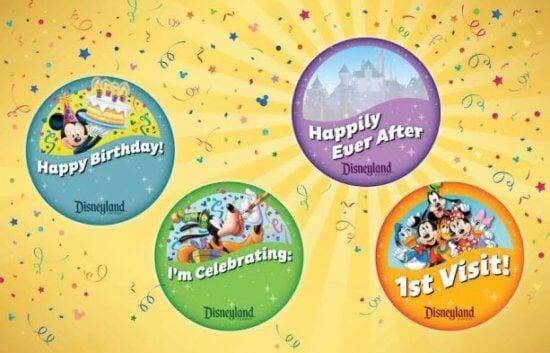 birthday button disney