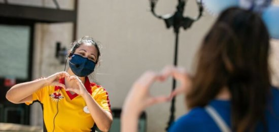 disney cast member mask
