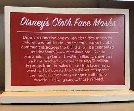 disney story for masks