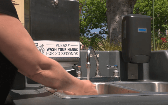 DTD Hand Washing Station