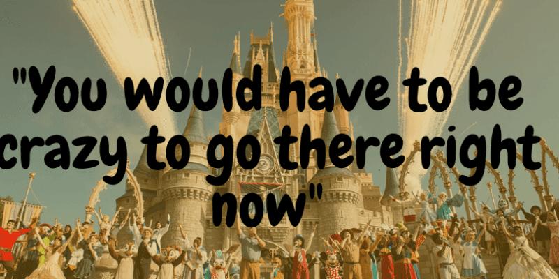 Walt Disney World reopening reaction