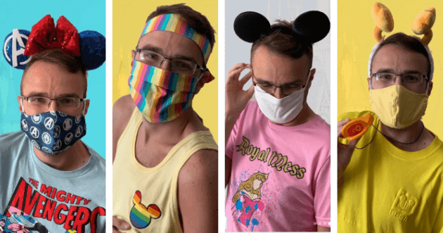 how to wear a mask at walt disney world outfits