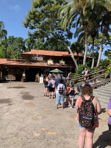 Jungle Cruise new queue