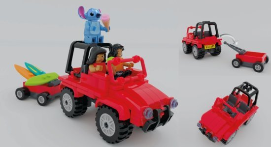 Lilo and Stitch LEGO Ideas set