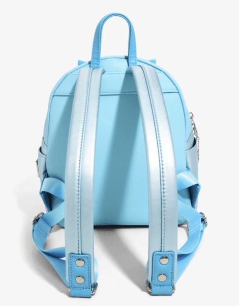 loungefly back blue cindy bag