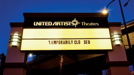 Closed Movie Theater