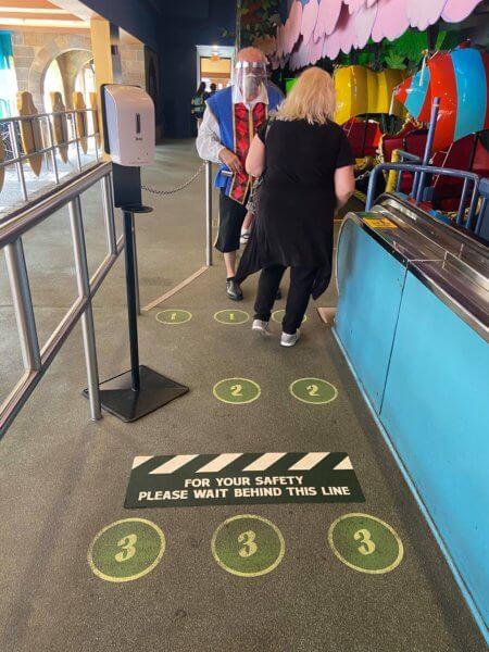 Peter Pan's Flight new queue
