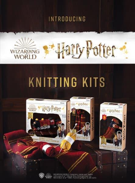 Harry Potter Knitting Kits