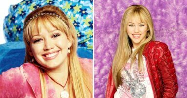 lizzie mcguire and hannah montana