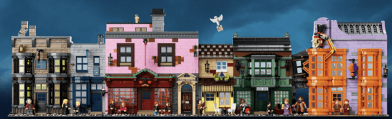 Harry Potter Diagon Alley LEGO set