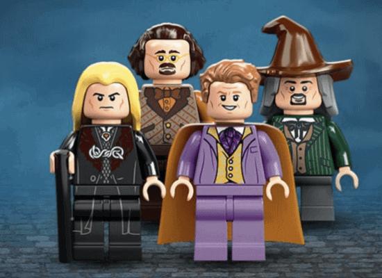 Diagon Alley LEGO minifigures