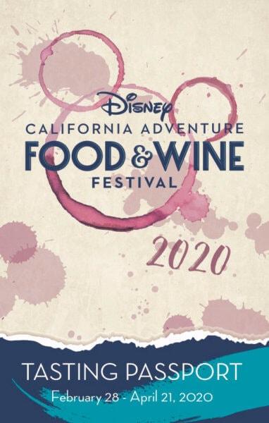 2020 DCA Food & Wine Tasting Passport