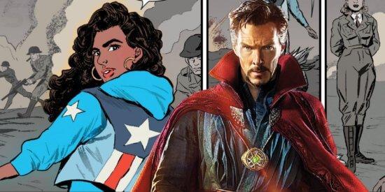 Miss America and Doctor Strange