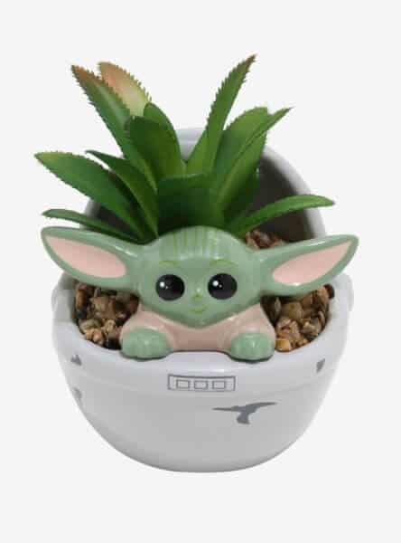 Baby Yoda Succulent Planter