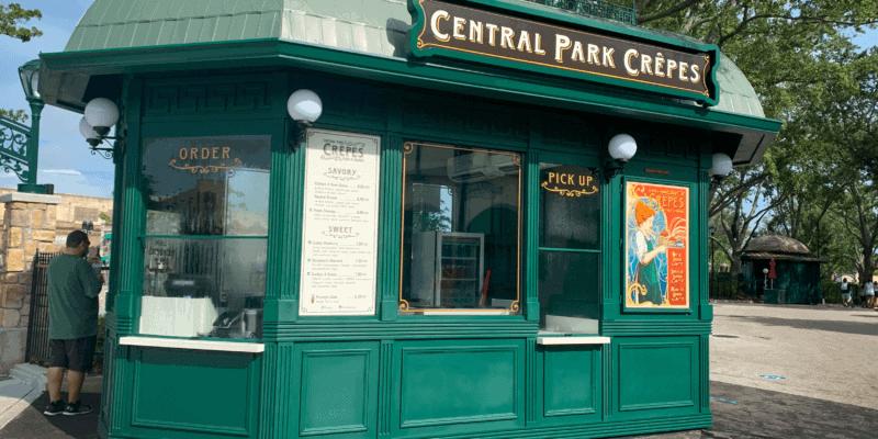 Central Park Crepes at Universal Studios Orlando