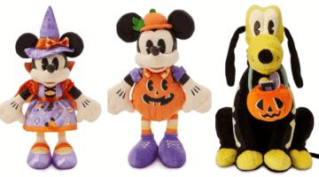 Disney Halloween Plushes