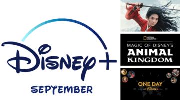 Disney+ September