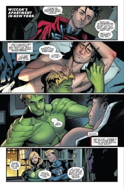 Marvel comics Empyre #4