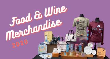 Food & Wine merchandise header