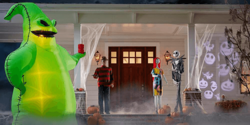 Nightmare Before Christmas Halloween Inflatables