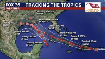 Tropical Storm Disney World