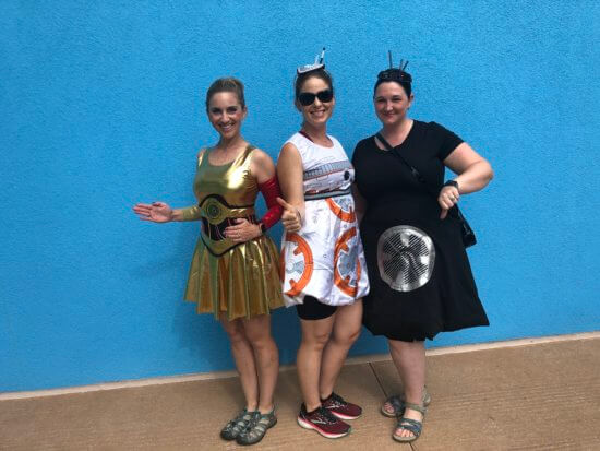droid costumes at magic kingdom halloween party