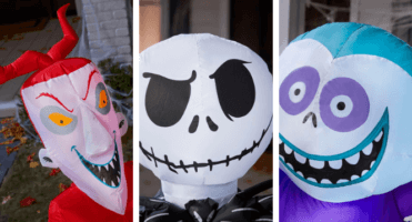 nightmare before christmas yard decorations header