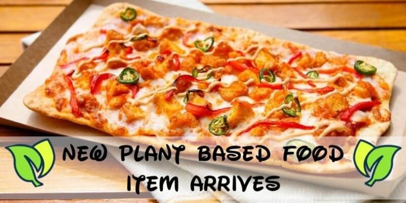 plant based pizza