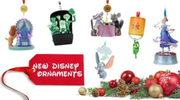 New Disney Ornaments